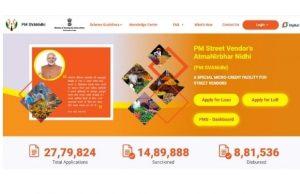 PM Svanidhi Yojana | Apply Online | Online Registration Form प्रधानमंत्री स्वनिधि योजना स्ट्रीट वेंडर्स आत्म निर्भर निधि