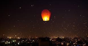 File:A night lit up on Makar Sankranti Uttarayana Festival with Kites and  Lights India.jpg - Wikimedia Commons